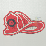 Firefighter Hat Acrylic Shape - CraftChameleon  - 1