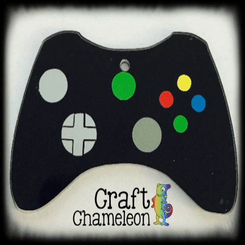 Game Controller Acrylic Shape - CraftChameleon  - 1