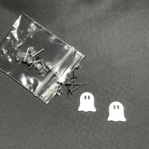 Ghost DIY Acrylic Earrings - CraftChameleon