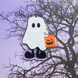 Halloween Bundle of Acrylic Blanks - Bag tags, Favors, Ornaments - Personalize, Monogram, Free cut files included - CraftChameleon