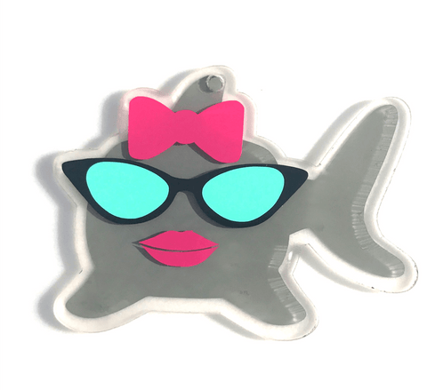 Shark Acrylic Shape ~ Boy or Girl - CraftChameleon