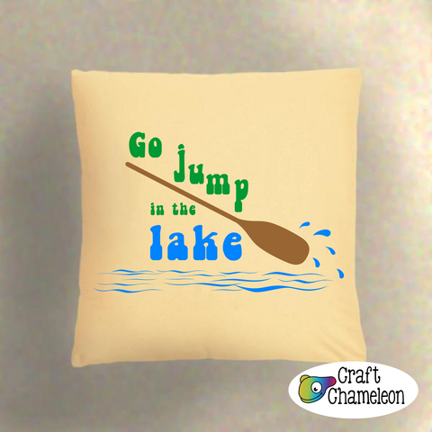 Go Jump in the Lake Digital Design