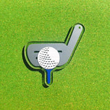 Golf Club with Ball Shaped Acrylic - CraftChameleon  - 1