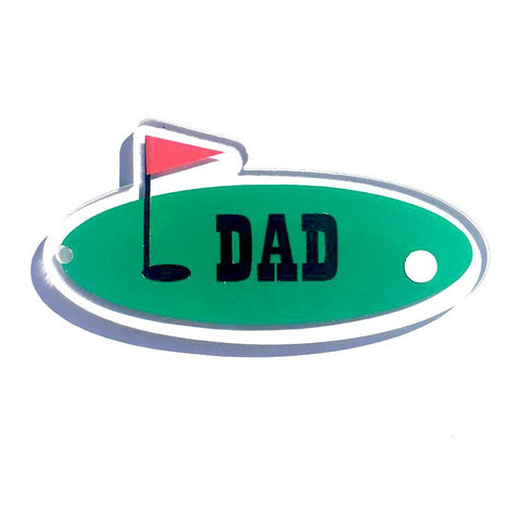 Golf Green Shaped Acrylic - CraftChameleon