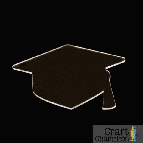 Graduation Cap DIY Acrylic Earrings - CraftChameleon