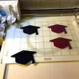 Graduation Cap Plastic Template for Etching - CraftChameleon