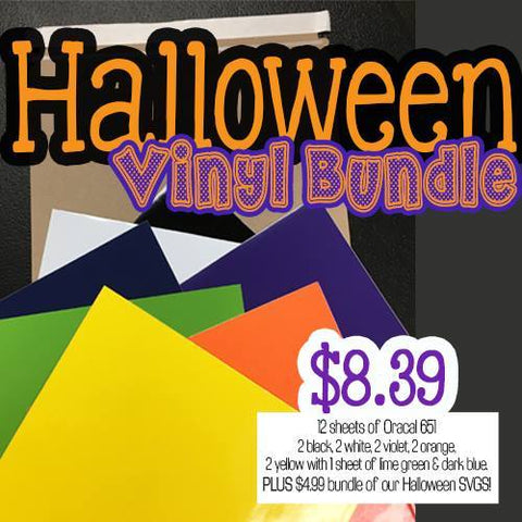 Halloween Vinyl and Graphics Bundle -AHH-MAZING!