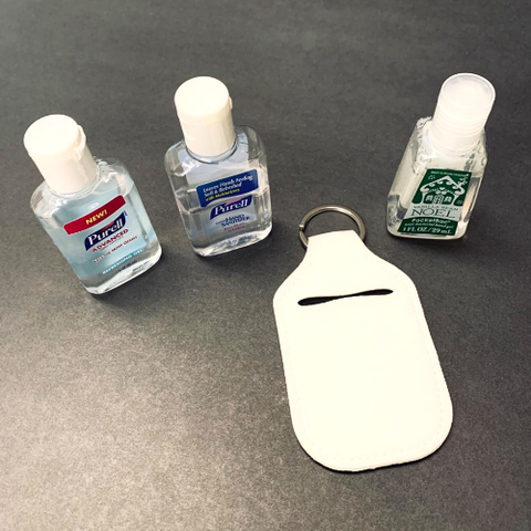 Neoprene Pocket Hand Sanitizer Holder Blank
