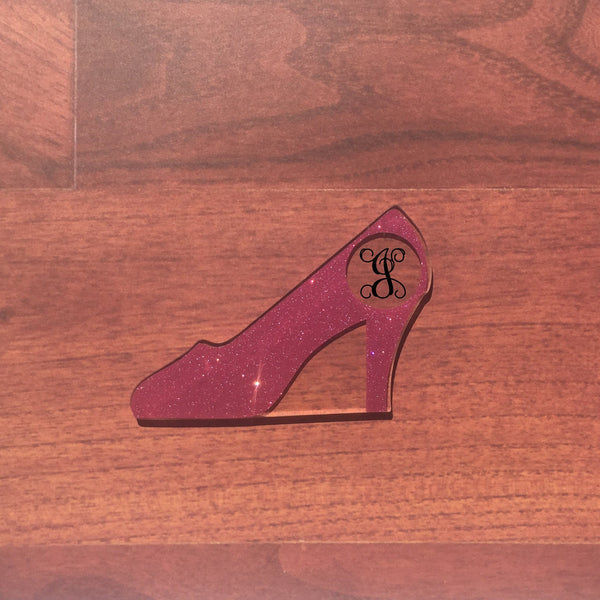 High Heel Shoe Shaped Acrylic - CraftChameleon  - 1