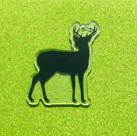 Deer Full Body Silhouette Acrylic Shape - CraftChameleon  - 1