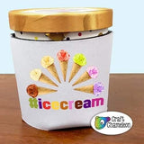 Ice Cream Holder Sublimation Digital Design