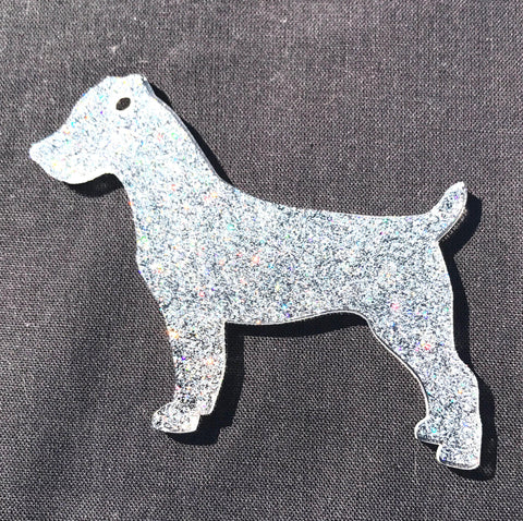 Jack Russell Terrier Dog Acrylic Shape - CraftChameleon