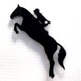 Horse Jumping Shaped Acrylic - CraftChameleon