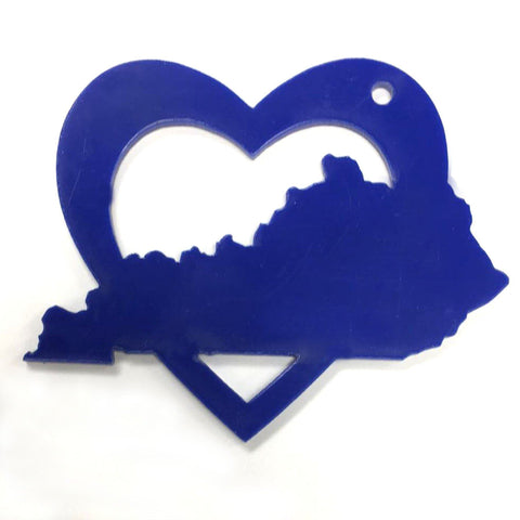 States in a Heart Acrylic Shape ~ Multiple States - CraftChameleon