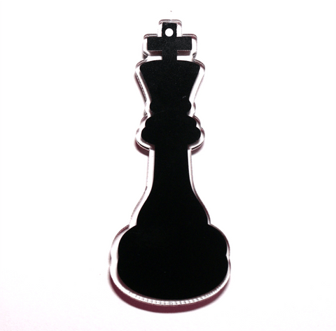 Queen or King Chess Piece Shaped Acrylic - CraftChameleon