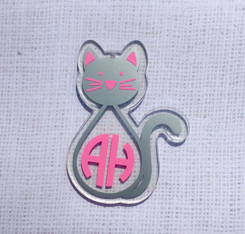 Kitty Cat Acrylic Shape - CraftChameleon  - 1
