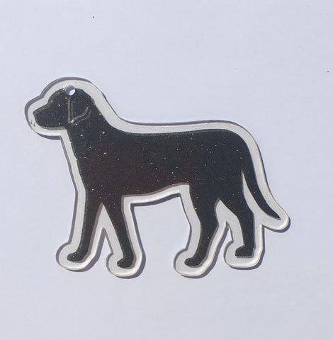 Labrador Lab Full Body Dog Acrylic Shape - CraftChameleon