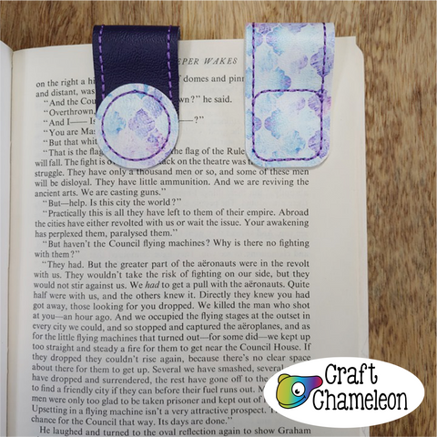 In the Hoop Magnetic Bookmark Design Only