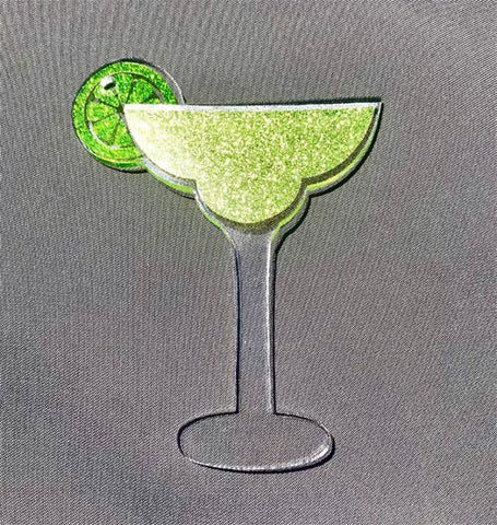 Margarita Glass Acrylic Shape - CraftChameleon