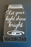 Light Base and Acrylic Bundle ~ Perfect for Curio, Laser Etching and Oracal Translucent Vinyl
