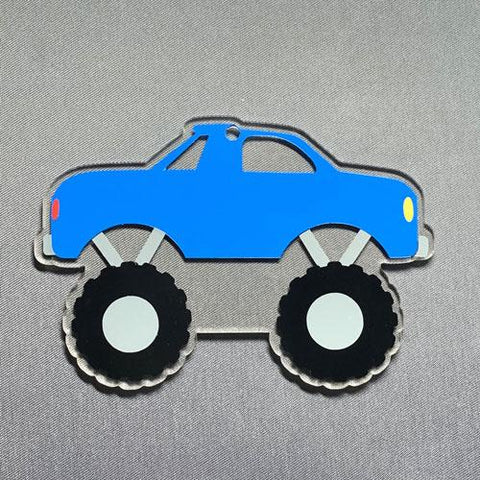 Monster Truck Acrylic Blank Shape