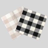 Buffalo Plaid Polyester Pillow Covers or Cases - Sold Individually - CraftChameleon