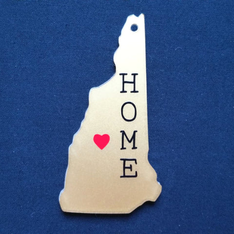 New Hampshire Acrylic State Shape ~ Multiple Sizes