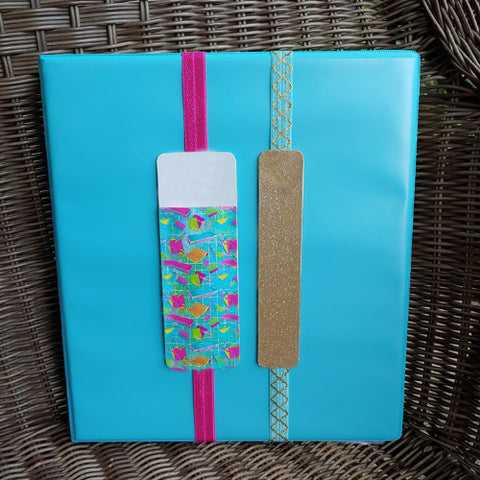 DIY Leatherette Pen Holder/Bookmark Kit