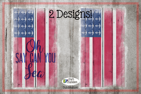 American Flag Sublimation Digital Design