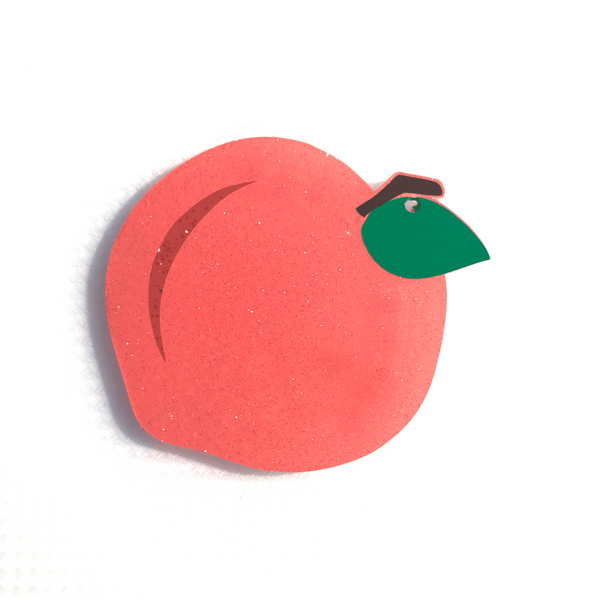 Peach Shaped Acrylic - CraftChameleon