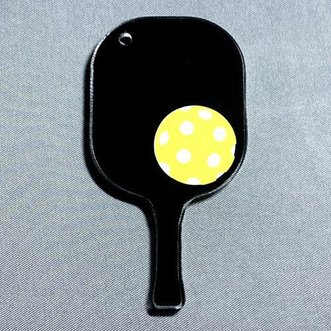Pickleball Paddle Acrylic Blank Shape