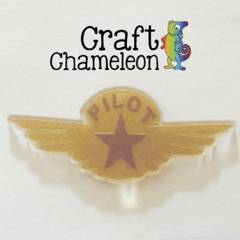 Acrylic Pilot Wings - CraftChameleon  - 1