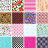Craft Chameleon Oracal Printed 12 x 12 Sheets Permanent Adhesive Vinyl