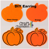 Pumpkin Acrylic Shape ~ Multiple Sizes - CraftChameleon