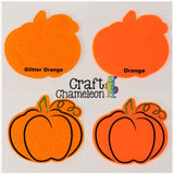 Pumpkin DIY Acrylic Earrings - CraftChameleon  - 1