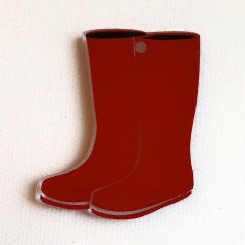 Rainboots Acrylic Blank Shape ~ Multiple Sizes