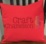 Cotton Canvas Pillow Covers or Cases - Sold Individually 18 x 18 - CraftChameleon  - 2
