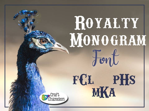 Royalty Monogram Font