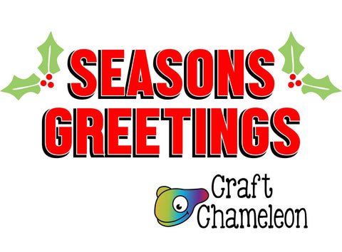 Seasons Greetings Wordart Digital Design