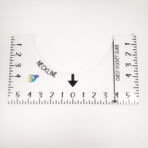 T-Shirt Ruler Placement Guide