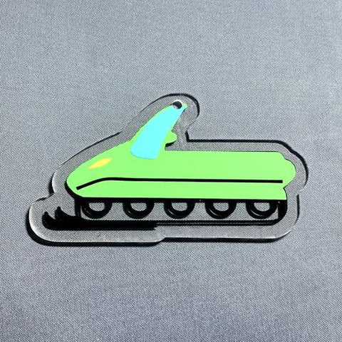Snowmobile Acrylic Blank Shape - CraftChameleon