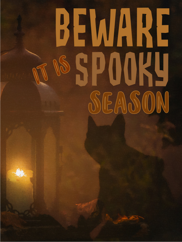 Spooky Season Sublimation Digital Design