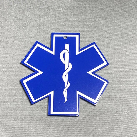 Star of Life Acrylic Blank Shape