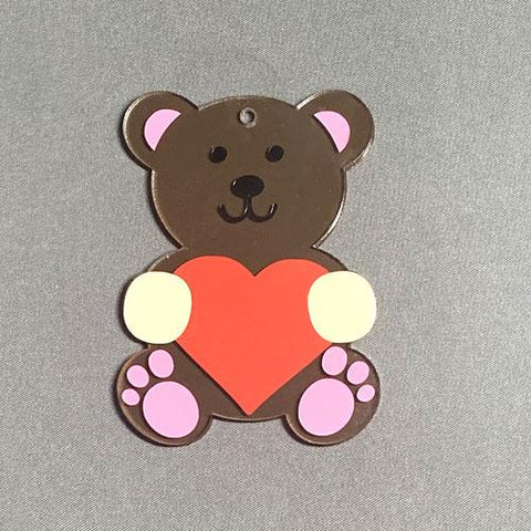 Teddy Bear Acrylic Blank Shape