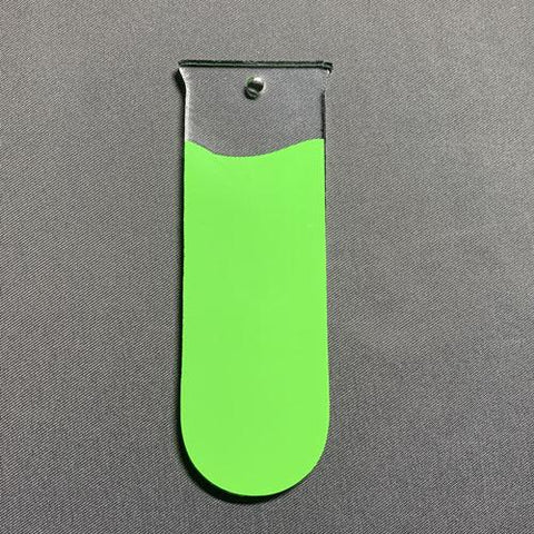 Test Tube Acrylic Blank Shape