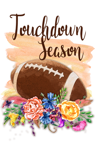 Touchdown Season Garden Flag Sized Sublimation Transfers