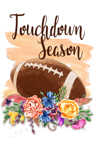 Touchdown Season Sublimation Digital Design
