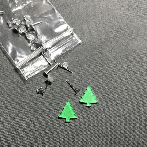 Tree DIY Acrylic Earrings