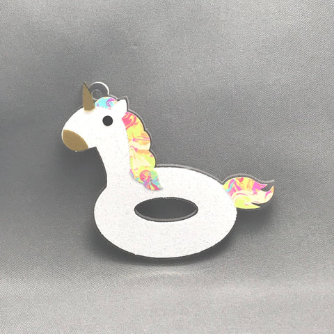 Unicorn Floaty Acrylic Shape - CraftChameleon