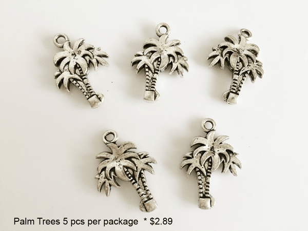 Palm Tree Charms - CraftChameleon
